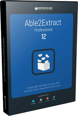 Able2Extract Professional v12.0.3.0  - ENG
