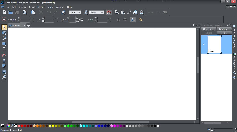 Xara Web Designer Premium v17.0.0.58775 x64 - ENG