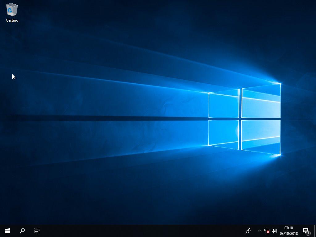 Microsoft Windows 10 Enterprise LTSC 2019 - Maggio 2019 - ITA