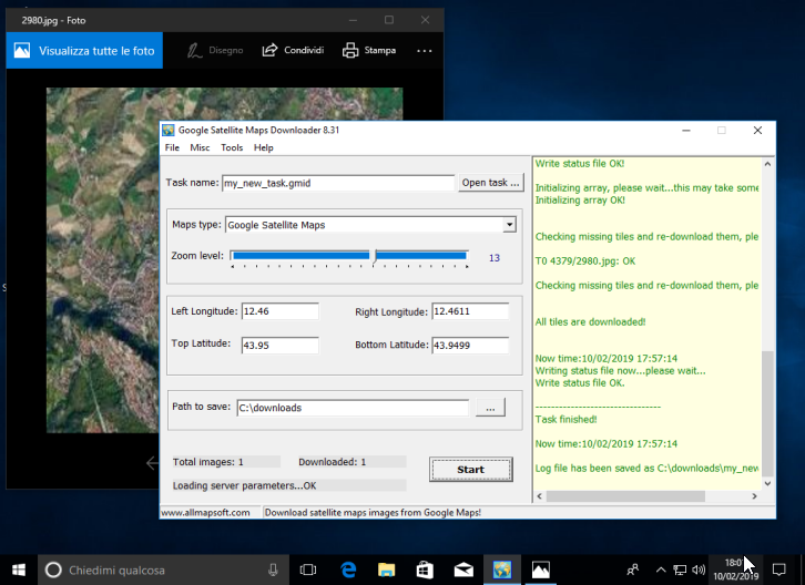 AllmapSoft Google Satellite Maps Downloader 8.326 - ENG