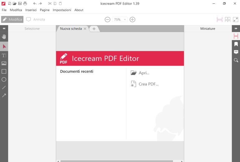 Icecream PDF Editor 1.40 - ITA