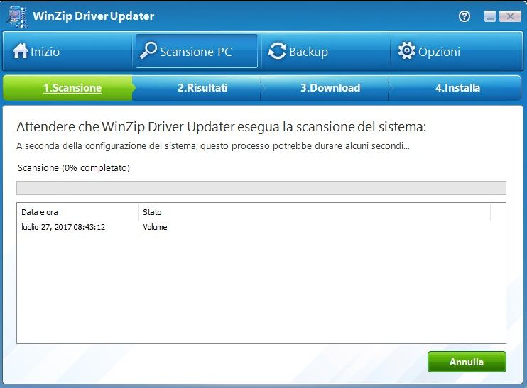 WinZip Driver Updater 5.31.2.2 - ITA