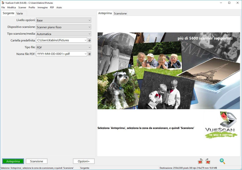 VueScan Pro 9.7.09 - ITA