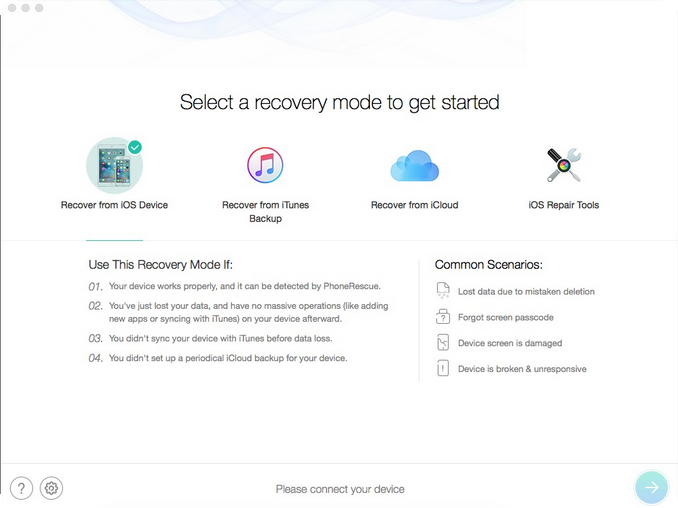 [MAC] PhoneRescue for iOS 3.7.2 (20190129) MacOSX - ENG