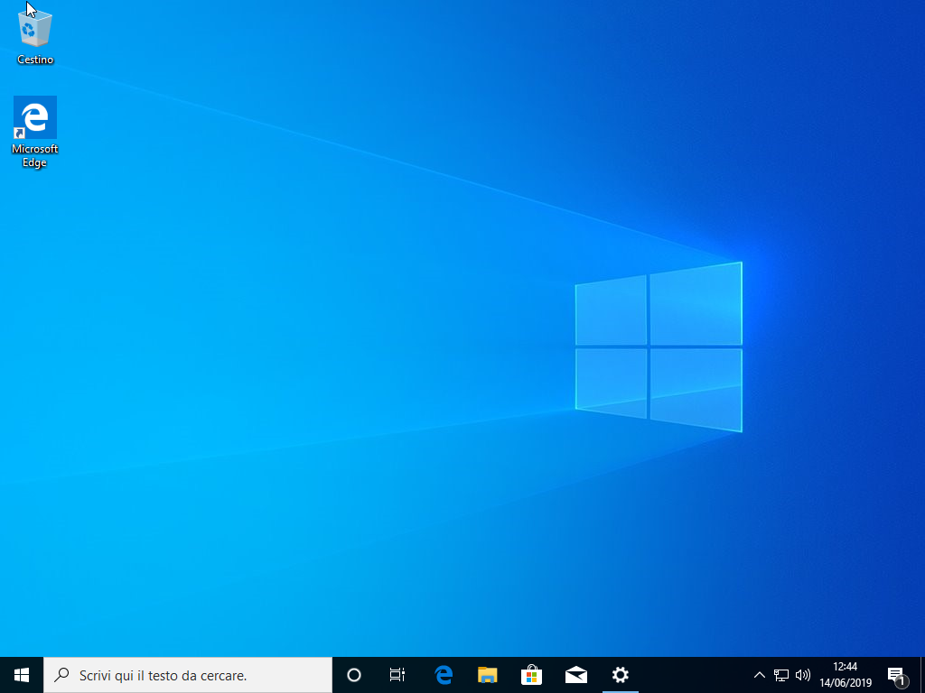 Microsoft Windows 10 Enterprise v1903 - Settembre 2019 - ITA