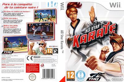 [WII] All Star Karate (2010) - ENG