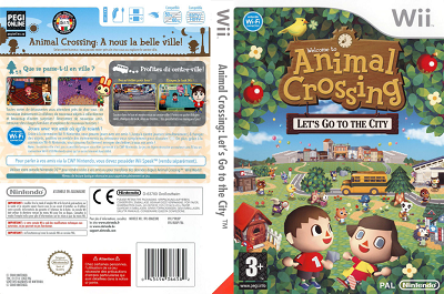 [WII] Animal Crossing: Let's Go to the City (2008) - ENG