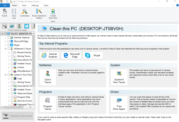 R-Wipe & Clean 20.0 Build 2261 Corporate - ENG