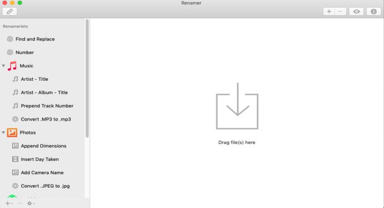 [MAC] Renamer 5.2.6 macOS - ENG
