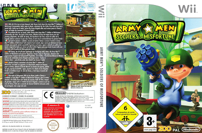 [WII] Army Men: Soldiers of Misfortune (2009) - ENG