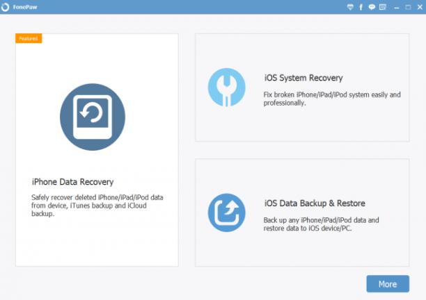 FonePaw iPhone Data Recovery 6.8.0 - ENG