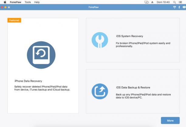 [MAC] FonePaw iPhone Data Recovery 5.1.0 macOS - ENG