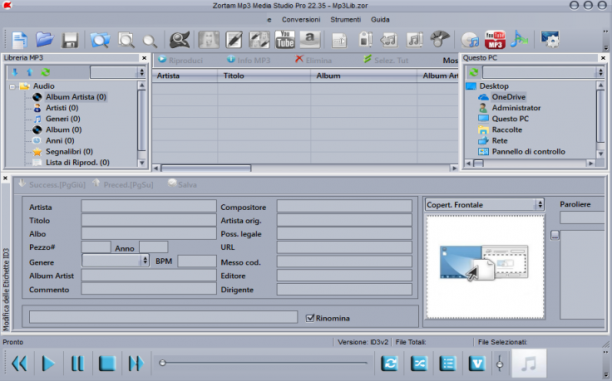 Zortam Mp3 Media Studio Pro 25.90 - ITA