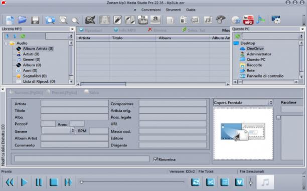 Zortam Mp3 Media Studio Pro 25.95 - ITA