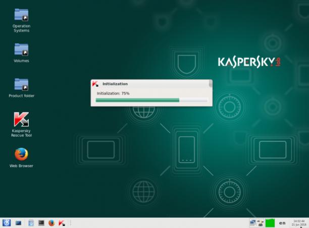 Kaspersky Rescue Disk 18.0.11.0 Update 04.12.2019 - ENG