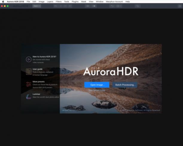 [MAC] Aurora HDR 2018 v1.0.1 MacOSX - ENG