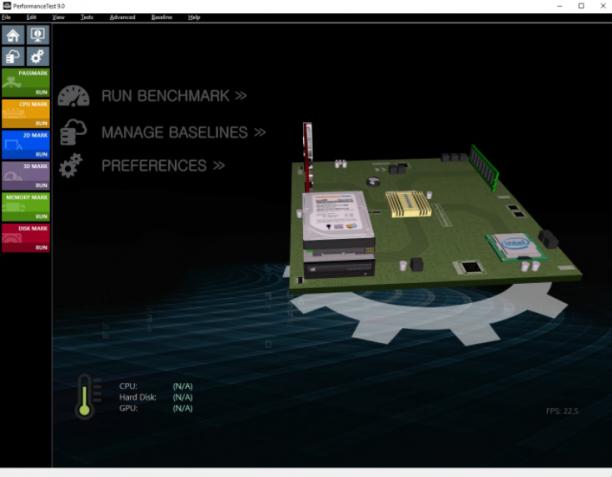 PassMark PerformanceTest 9.0 Build 1035 - ENG