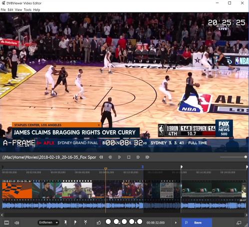 DVBViewer Video Editor 1.0.6.0 - ENG