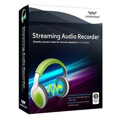 Wondershare Streaming Audio Recorder v2.3.12.2 - ENG