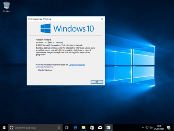 Microsoft Windows 10 Redstone 2 Combined Editions RTM v1703 build 15063 - ITA