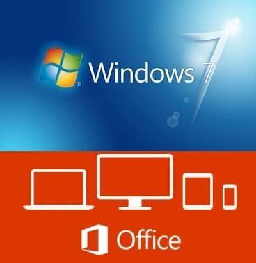 Microsoft Windows 7 Sp1 Professional   Office Professional Plus 2016 - Ottobre 2017 - ITA