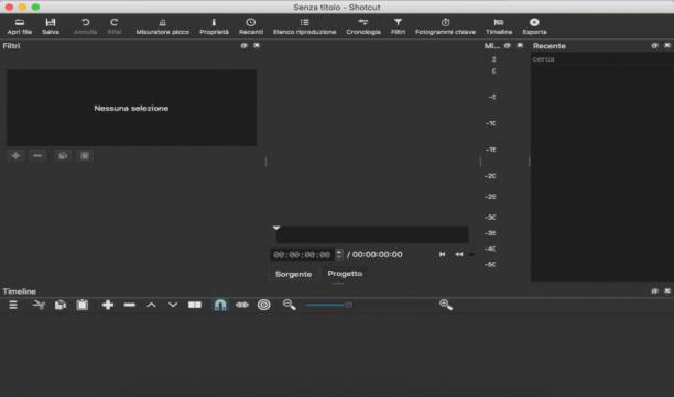 [MAC] ShotCut 19.10.20 macOS - ITA
