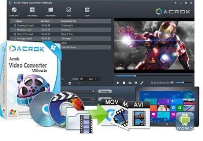 Acrok Video Converter Ultimate 6.0.96.1129 Preattivato - ENG