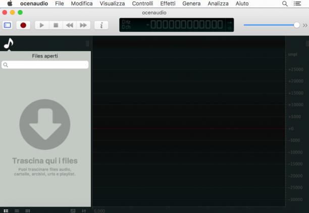 [MAC] OcenAudio 3.7.6 macOS - ITA