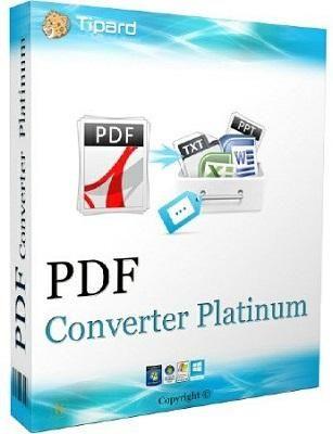 Tipard PDF Converter Platinum 3.3.16 - ENG