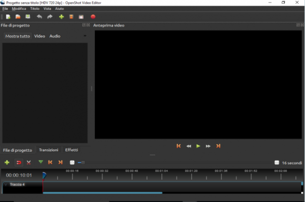 OpenShot Video Editor 2.4.0 x64 - ITA