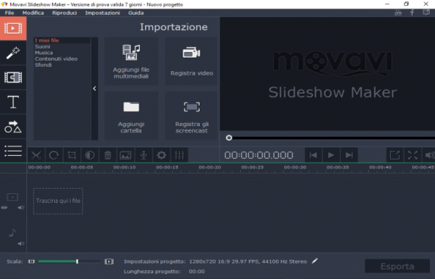 Movavi Slideshow Maker 4.2.0 - ITA