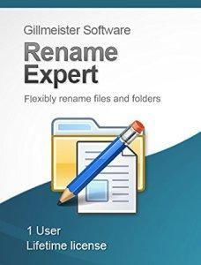 Gillmeister Rename Expert 5.13.0 Preattivato - ENG