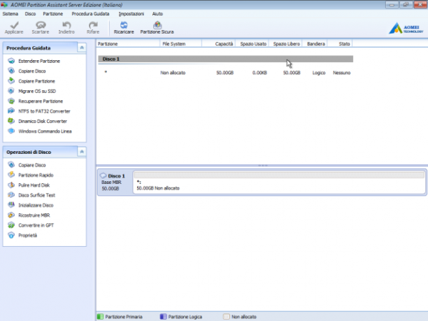 [PORTABLE] AOMEI Partition Assistant 8.5 Server Edition Portable - ITA