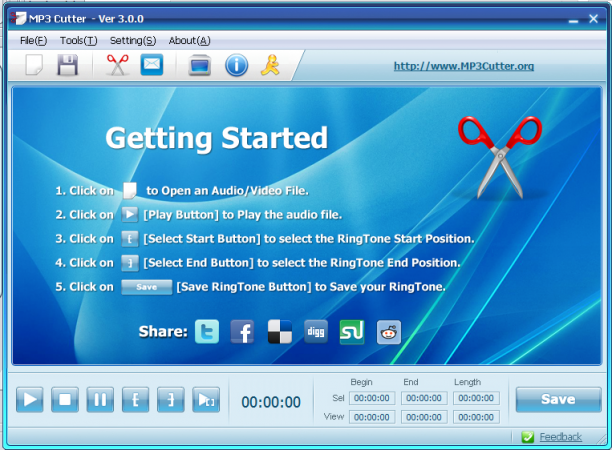 MP3 Cutter 4.3.2 - ENG