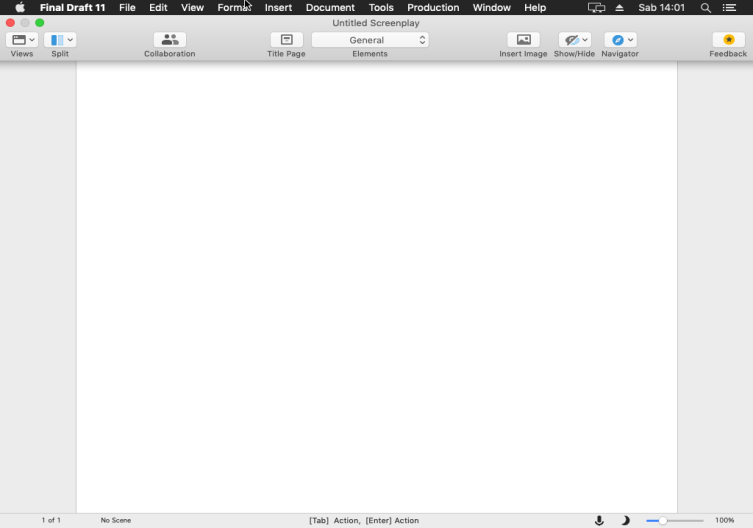[MAC] Final Draft v11.1.2 macOS - ENG