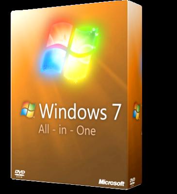 Microsoft Windows 7 Sp1 All-In-One 11 in 1 - Gennaio 2019 - ITA