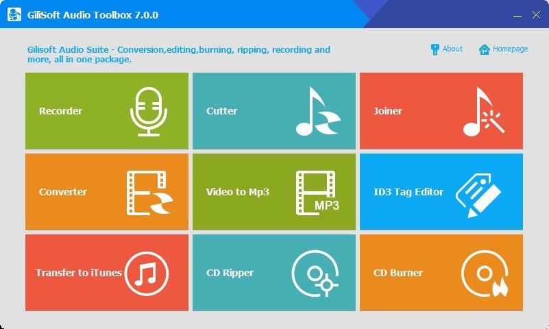GiliSoft Audio Toolbox Suite 2019 v7.5.0 - ENG