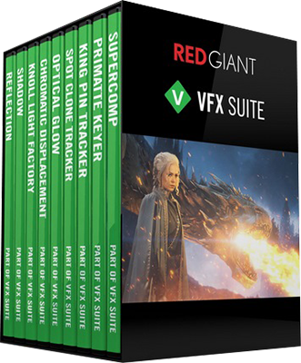[MAC] Red Giant VFX Suite 1.0.4 MacOS - ENG