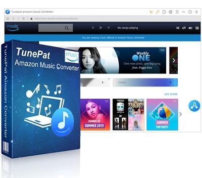 TunePat Amazon Music Converter 1.31 - ITA