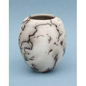 Horsehair pot h.10cms