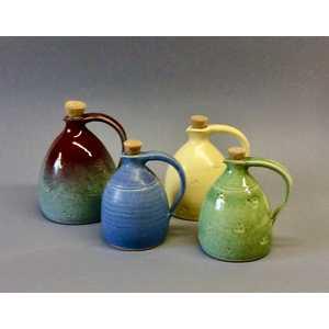 Oil jars h.15 cms