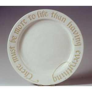 Plate -- Commission your own inscription d. 40cm