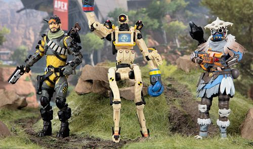Jakks Pacific is Back in the Battle Royale With Apex Legends Series 3 Action Figures