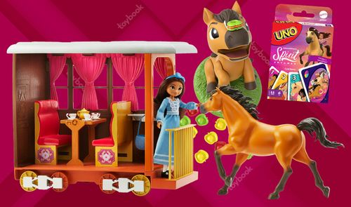 Mattel's 'Spirit Untamed' Line Gallops Into Retail