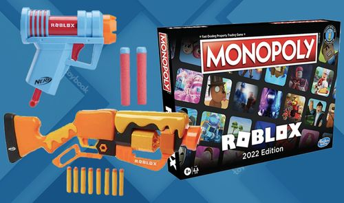 Hasbro, Roblox Team Up for NERF, Monopoly x Roblox Crossover