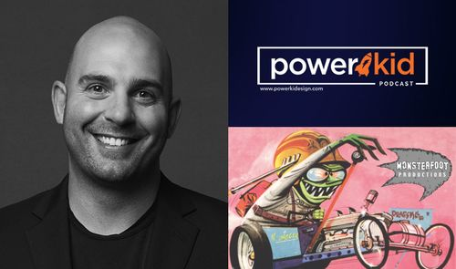 Talkin' Weird Ohs with Monsterfoot Productions' Ahmet Zappa on the 'Power Kid Podcast'