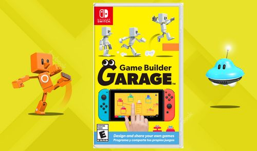 Nintendo's 'Game Builder Garage' Teaches Kids to Make Games
