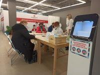 В торговых центрах Волгоградской области открылись новые пункты вакцинации от COVID-19