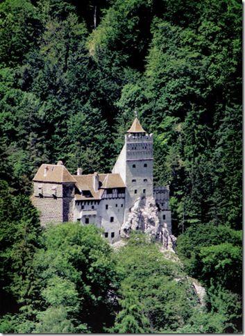 Славнозвісний румунський замок Бран. Замок Графа Дракули. (10)
