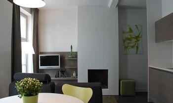 Gent - Huis / Maison - Drabstraat - oranje appartemen
